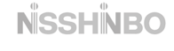 Nisshinbo logo in gray