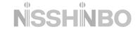 Nisshinbo logo in gray